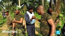 """""""Du sable et des cailloux"""" pour lutter contre l'armée congolaise - RDC #Reporters"""