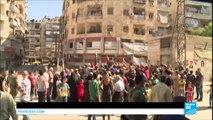 """Syrie : malgré les bombes, les rebelles d'Alep refusent de se rendre """"nous allons vous piétiner"""""""