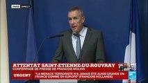 REPLAY - Intervention de François Molins après l'attentat de Saint-Etienne-Du-Rouvray