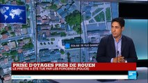 """Prise d'otages dans une église de Saint-Etienne-du-Rouvray : """"La police a agi très rapidement"""""""