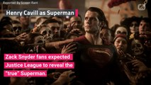 Zack Snyder's Version of Superman Was The 'True' Superman