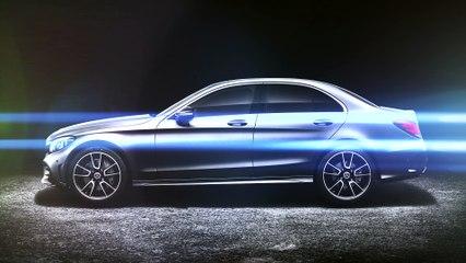 Mercedes Classe C restylée (2018) : vidéo de la version restylée
