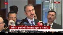 Adana'daki şehit annesine hakaret