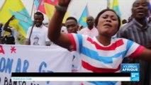 Manifestations contre Kabila en RD Congo : pierres contre gaz lacrymogènes, la tension monte