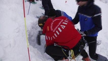 Le Val d'Ese, théâtre éprouvant d'un exercice d'avalanche