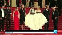 """Cannes 2016 : Soko, Lily-Rose Depp, Gaspard Ulliel et Mélanie Thierry présentent """"La danseuse"""""""