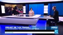 "Projet de ""Loi travail"" : El Khomri face au Conseil des ministres"