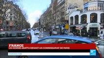 """L'homme abattu devant un commissariat à Paris aurait crié """"Allah Akbar"""""""