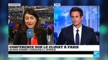 COP21 : Paris promet 2 milliards d'euros à l'Afrique pour les énergies renouvelables d'ici 2020