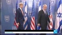 Israël/Palestine : John Kerry au Proche-Orient dans un climat d'extrême tension