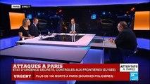 Attentats terroristes à Paris : Au moins 120 morts, bilan provisoire - 5 terroristes neutralisés