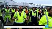 Coupe du monde de rugby: les All Blacks accueillis en héros à leur retour en Nouvelle Zélande