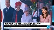Xi Jinping au Royaume-Uni : accueil royal pour le président chinois à Londres