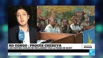 RD Congo - Procès Chebeya : La peine de mort pas réclamée par les parties civiles