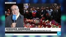 """""""Une semaine très émouvante pour le peuple arménien"""" - Centenaire Génocide arménien"""