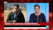 CRASH A320 : Le copilote Andreas Lubitz a caché qu'il était en arrêt maladie le jour du crash