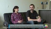 Casal brasileiro luta para recuperar guarda da filha nos EUA