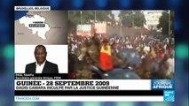 """Guinée : Inculpation de Dadis Camara, """"un pas contre l'impunité"""""""