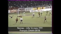 16/03/91 : François Omam-Biyik (32') : Rennes - Lille (1-3)