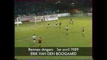 01/04/89 : Erik Van den Boogaard (2ème but) : Rennes - Angers (2-1)