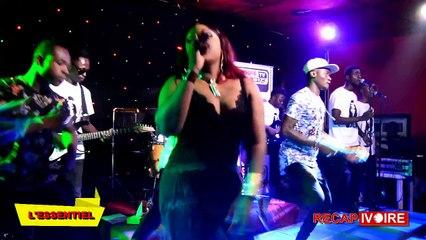 RECAP IVOIRE DU CONCERT LIVE VIP DE BAMBA AMY SARAH