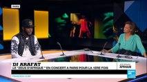 """DJ Arafat, le """"Zeus d'Afrique"""" et roi du coupé-décalé en concert à Paris pour la 1ère fois"""