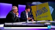 LA SEMAINE DE L'ÉCO - 2e PARTIE - Les propositions choc du Medef pour la France