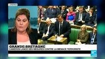 GRANDE BRETAGNE : Cameron lance des mesures contre la menace terroriste