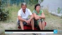 Ukraine : reportage dans le plus grand abri anti-atomique de Donetsk