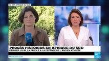 Procès Pistorius : la parole à la défense de l'ancien athlète pour le dernier jour d'audience