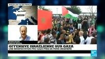 Incidents à Sarcelles après la manifestation pro-palestinienne interdite