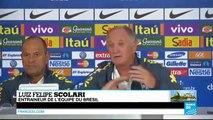 """Luiz Felipe Scolari : """"nous avons perdu d'une horrible manière, c'est fini, tout est fini"""""""