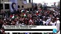 Violence au Proche-Orient : dernier hommage au jeune Palestinien tué