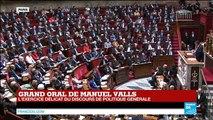 """""""Être premier ministre de la France est un immense honneur pour moi"""" dit Manuel Valls"""