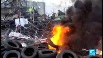 Ukraine : la violence des combats à Kiev en images