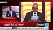 Calendrier des événements commémoratifs pour les funérailles de Nelson Mandela