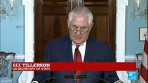 """US - Secretary of State Rex Tillerson says he has """"never considered resigning"""""""