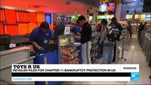 End of an era: Toys 'R' Us files for bankruptcy