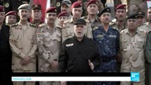 """Iraqi PM in Mosul: """"I announce the end, failure and collapse of the infamous islamic state group"""""""