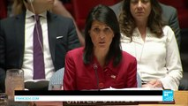 """Nikki Haley: """"Yesterday's ICBM escalation requires an escalated diplomatic, economic response"""""""