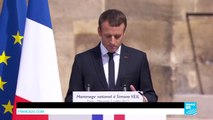 """French President Macron pays tribute to Simone Veil: """"She loved Europe!"""""""
