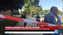 Paris: Crash on Champs Elysées