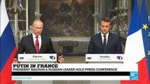 "Putin in Versailles: ""It's my first time in Versailles!"""