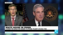 """Former FBI chief Mueller to lead Trump-Russia probe: """"A positive reaction from GOP & Democrats"""""""