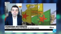 Kurdish Offensive: Turkey furious over US arming of Syrian Kurds (part 1)