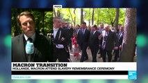 France: François Hollande announces slavery memorial in last speech as president