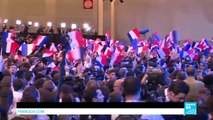 As it happened: French voters push mainstream parties to the sidelines