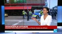 BREAKING: Stockholm Truck Attack