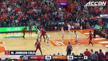 Markell Johnson Cold-Blooded 3 Wins It For NC State vs. Syracuse