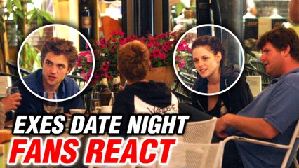 Robert Pattinson & Kristen Stewart Reunite | Fans React On Seeing Exes Together